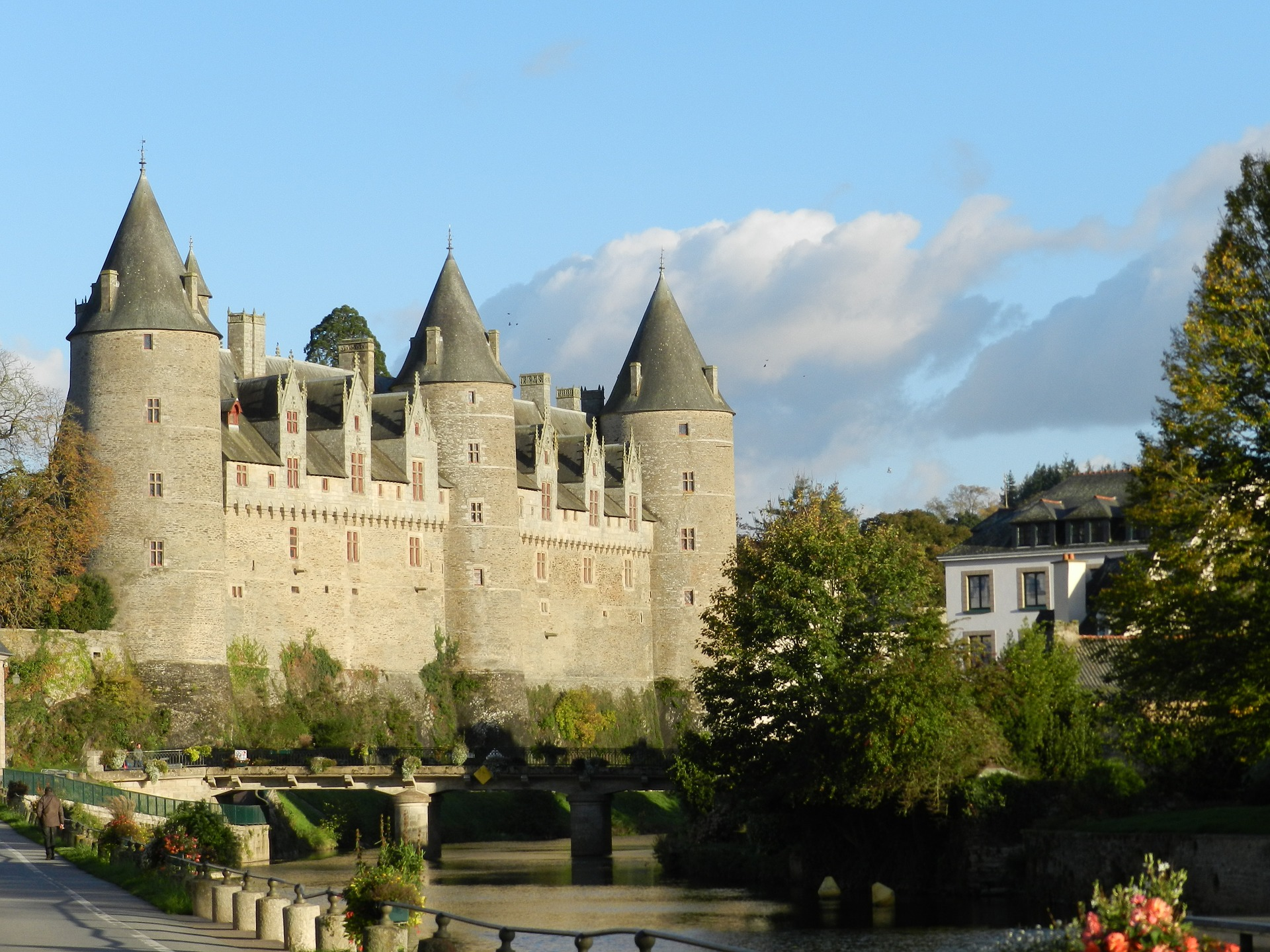 Josselin in Brittany