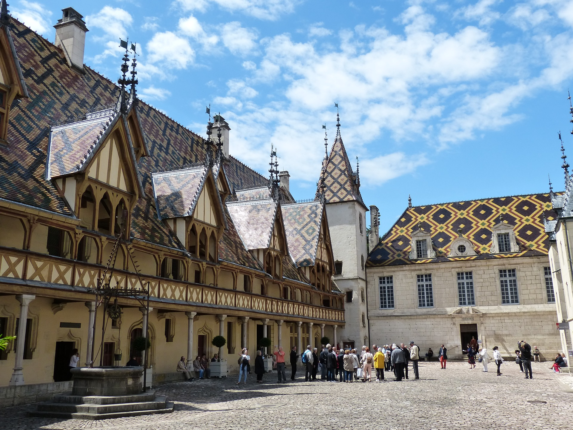 Beaune in Burgundy